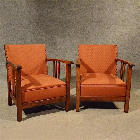 compact armchairs antique art deco pair of armchairs low compact club chairs