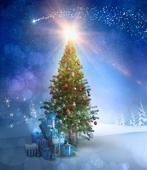 aliexpress com buy christmas tree vinyl backdrop for