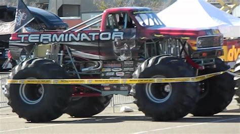 monster trucks videos 2013 terminator monster truck monster jam san diego 1 19 2013