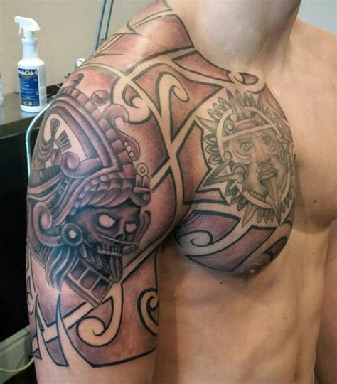 huitzilopochtli tattoo collection of 25 back aztec design