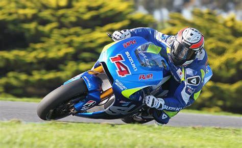 Motorcycle Apparel Phillip Island by Suzuki Concludes Motogp Test At Phillip Island