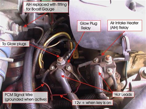 glow plug question    powerstroke ford truck enthusiasts forums