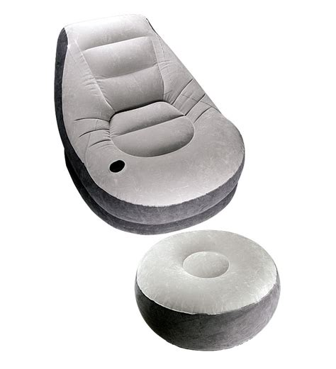 inflatable chair and ottoman intex inflatable chair n ottoman combo by intex online
