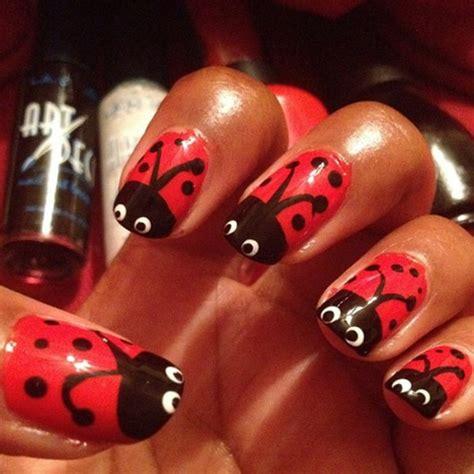 Bug Nail Design