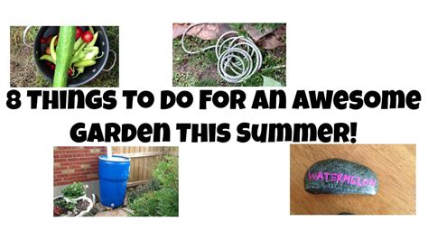 8 Things To Do This Summer by 8 Things To Do For An Awesome Garden This Summer Queenbeeing