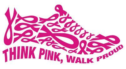 Walk For Womens Cancer by Think Pink Clipart Clipart Kid