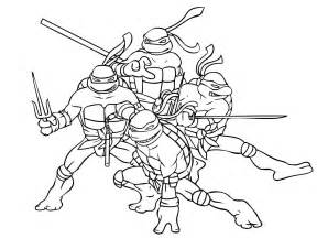 Mutant Ninja Turtles Coloring Pages sketch template