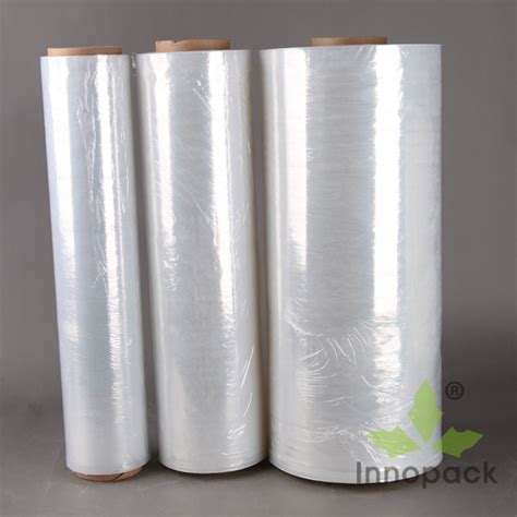 Plastik Cor Per Roll transparent food grade plastic wrapping paper roll