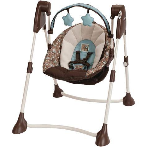 graco swing 2 in 1 graco swing by me portable 2 in 1 swing little hoot