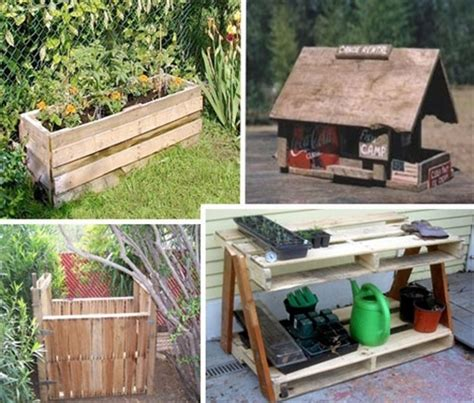 Wood Pallet Garden Ideas Diy Pallets Of Wood 30 Plans And Projects Pallet Furniture Ideas