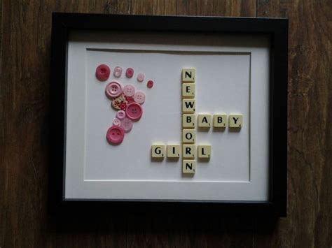 scrabble craft ideas crafted 12 quot x 10 quot scrabble button foot picture