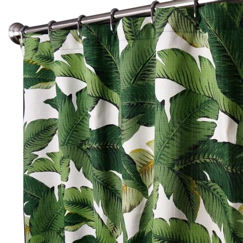 palm leaf shower curtain top 25 ideas about custom shower curtains on pinterest