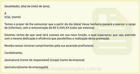 interno web mail modelo de comunicado de promo 231 227 o do empregado