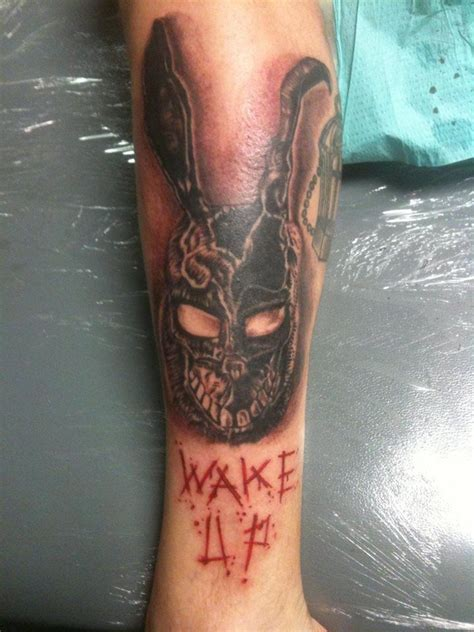 mainline tattoo frank from donnie darko another fav tattooed by robert
