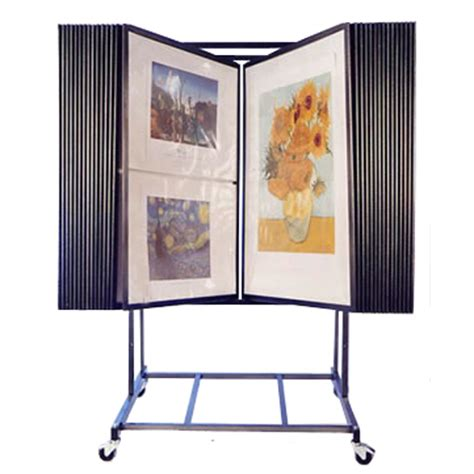 how to display art prints 30 panel adjustable fine art display art print rack