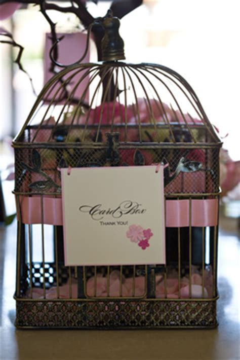 birdcage card holder ideas weddingbee