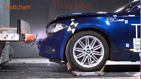 Bmw 1 Series Crash Test by Crash Test Bmw 1 Series E87 Front