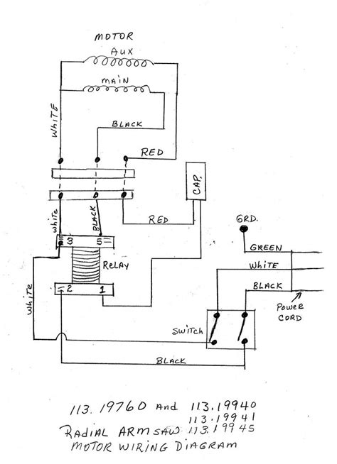Delta Table Saw Wiring Diagram | Delta table saw, Wire