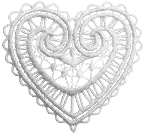 lace heart clipart clipart suggest