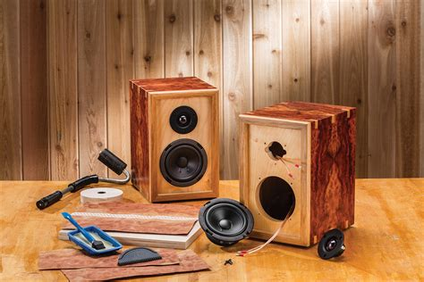 rockler introduces diy bookshelf speaker kits users