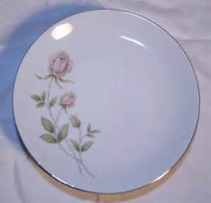 prudential bavaria germany china rose pattern desert salad