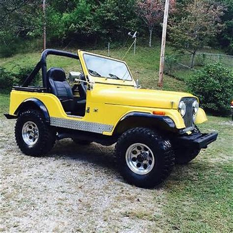 Jeeps For Sale Florida Jeep Cj Renegade 1978 Jeep Cj 5 Renegade Powerful