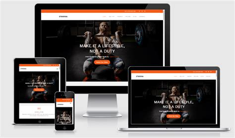 bootstrap themes gym 26 fitness and health html5 free gym fitness bootstrap