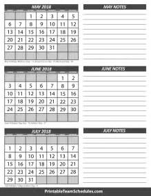 Calendar 2018 June July May June July Calendar 2018
