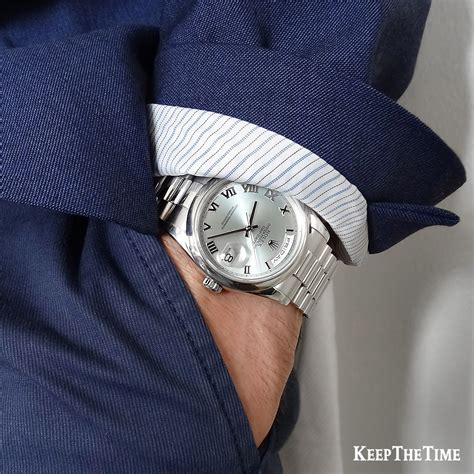 Rolex 118206 president day date platinum glacier blue presidential box
