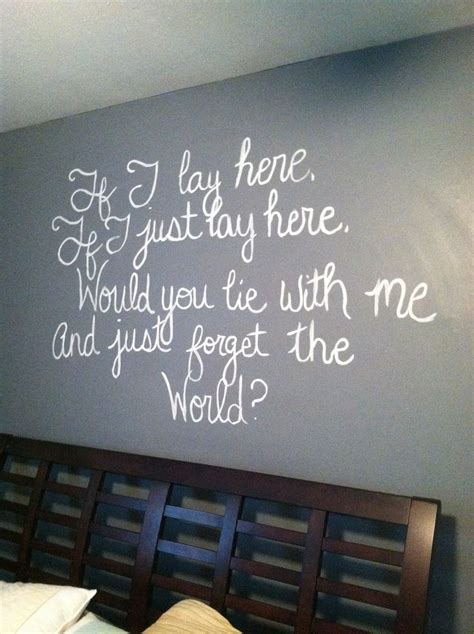 Master Bedroom Quotes master bedroom quote for the home