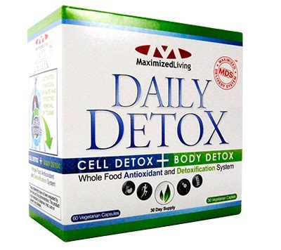 Maximized Living Detox Diet by Maximized Living Detox Daily Detox System Maximized
