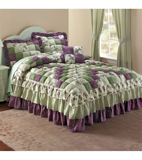 puff bedspreads puff top printed bedspread pretty as a picture thi flickr