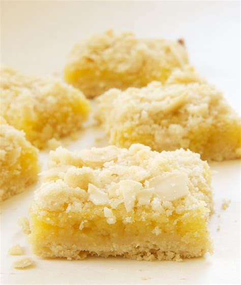lemon bar topping lemon almond crumb bars bake or break
