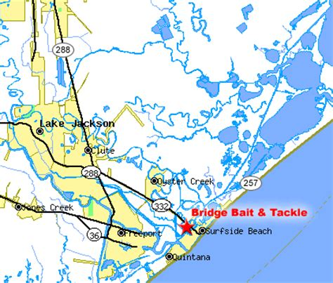 map of freeport texas map driving directions to bridge bait tackle in freeport tx