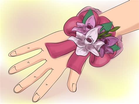 How To Make A Corsage For Baby Shower by 6 Ways To Make A Baby Shower Corsage Wikihow