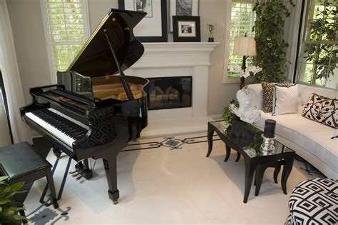 Grand Piano Living Room by 50 Living Rooms Beautiful Decorating Designs