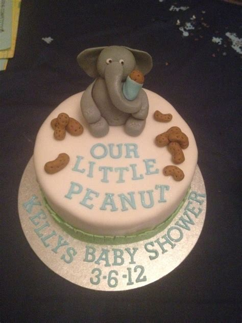 Peanut Baby Shower by Our Peanut Baby Shower Cake Cakecentral