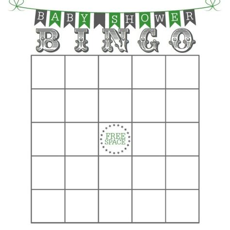 Baby Shower Bingo Card Templates Free by Free Printable Baby Shower Bingo Cards