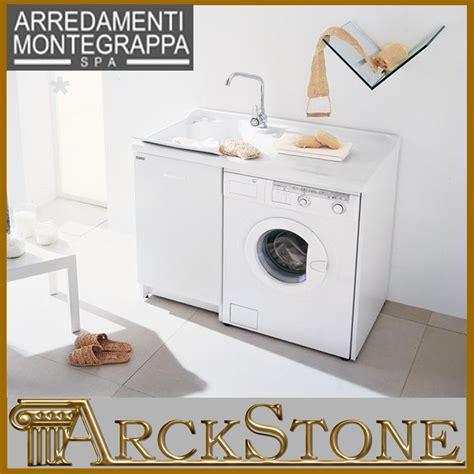 lavelli montegrappa arckstone mobile lavatoio copri lavatrice montegrappa