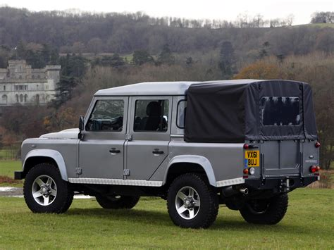 land rover 110 truck defender 110 pickup 1st generation facelift defender