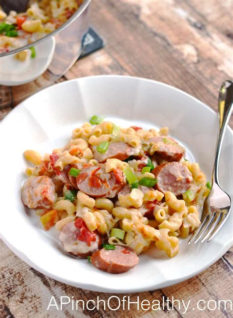 healthy recipes with turkey sausage one pot spicy pasta with turkey sausage a pinch of healthy