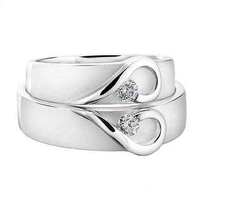 his and hers platinum wedding bands by