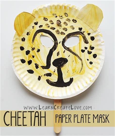cheetah mask template cheetah mask craft