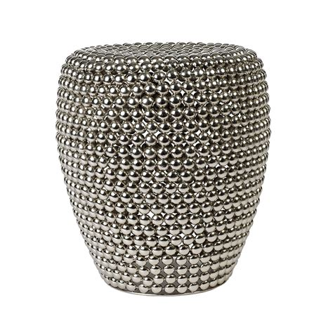buy pols potten dot stool silver amara