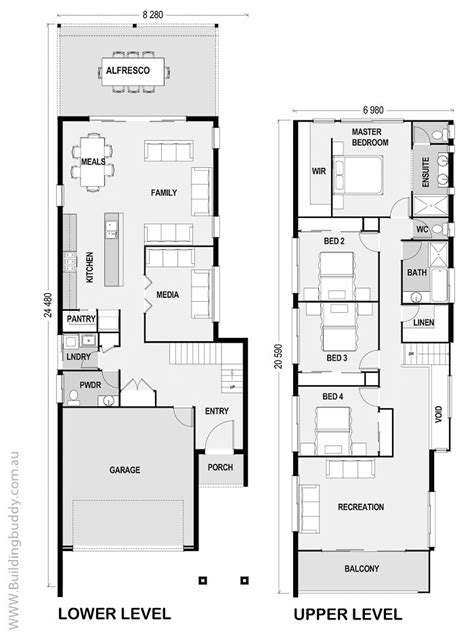 outstanding narrow lot home designs 3 agamainechapter org