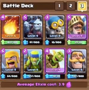 arena deck the 3 best arena 4 decks in clash royale