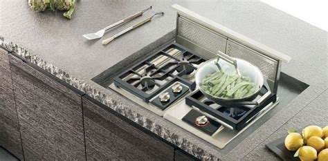 Wolf Drop In Cooktop - wolf 36 quot downdraft ventilation system stainless steel