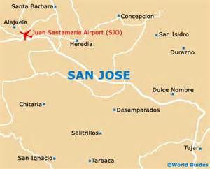 San Jose Cr Map by San Jose Maps And Orientation San Jose Costa Rica