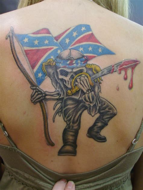 rebel tattoos tattoos 37 awesome confederate flag tattoos