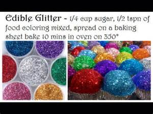 where to find edible glitter diy how to make edible glitter